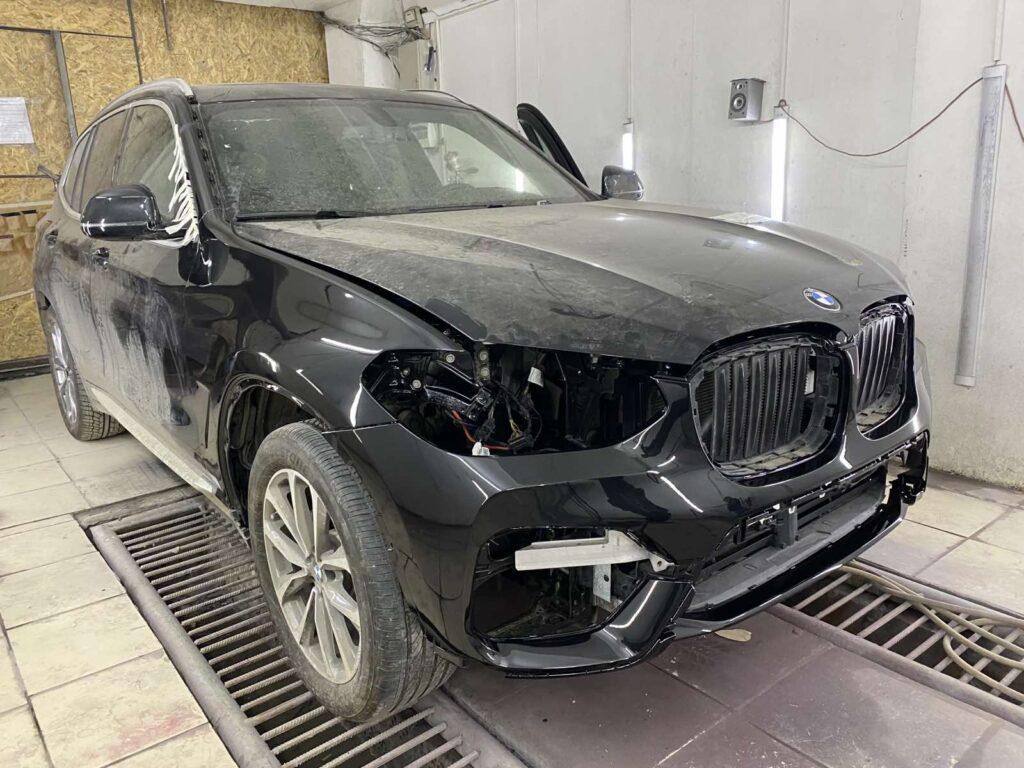 Рихтовка кузова БМВ Киев цена