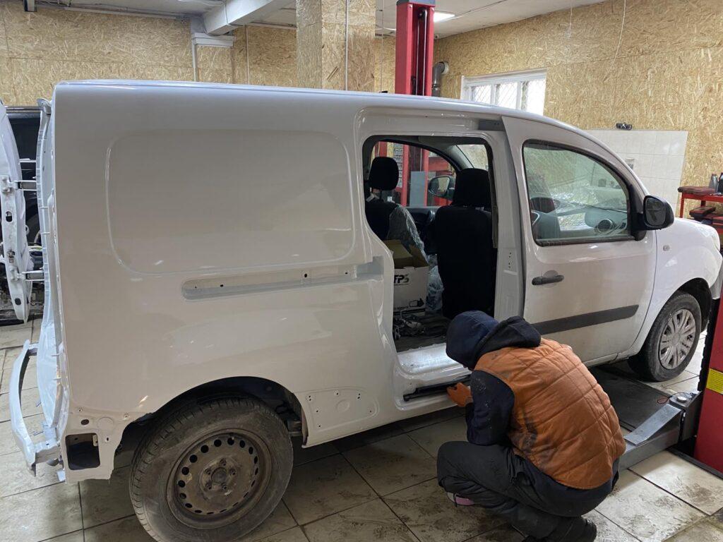 Выравнивание геометрии кузова Киев цена