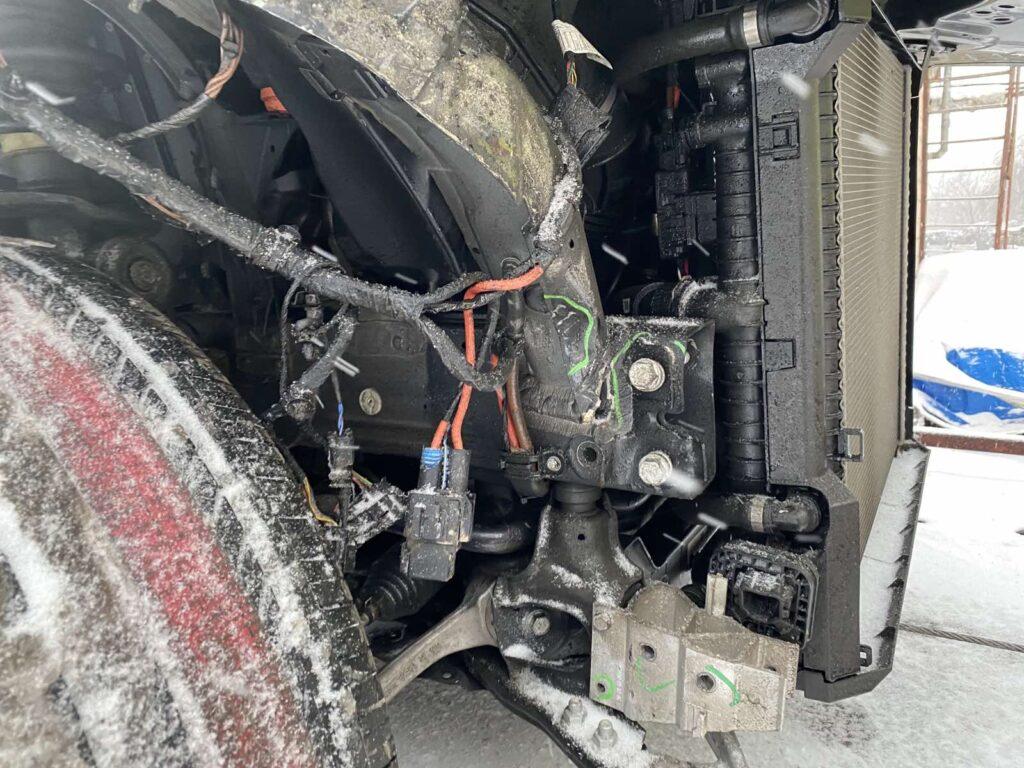 Рихтовка сварка и покраска БМВ Киев цены