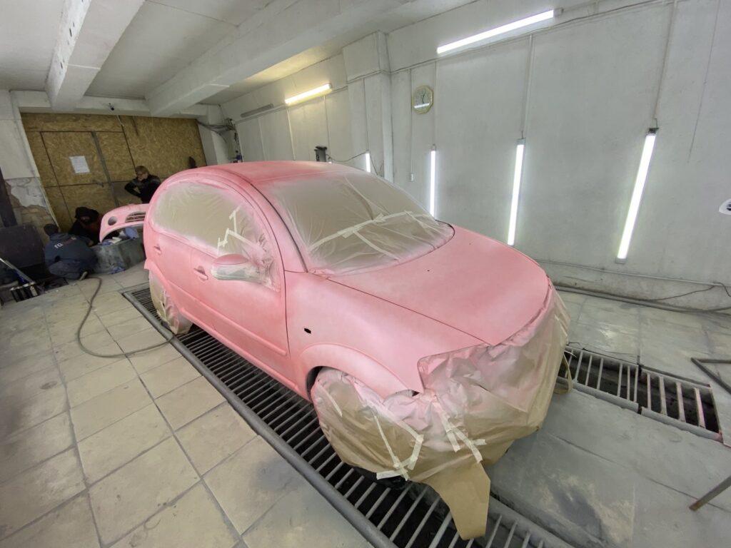 Покрасить машину жидкой резиной цена Киев под ключ
