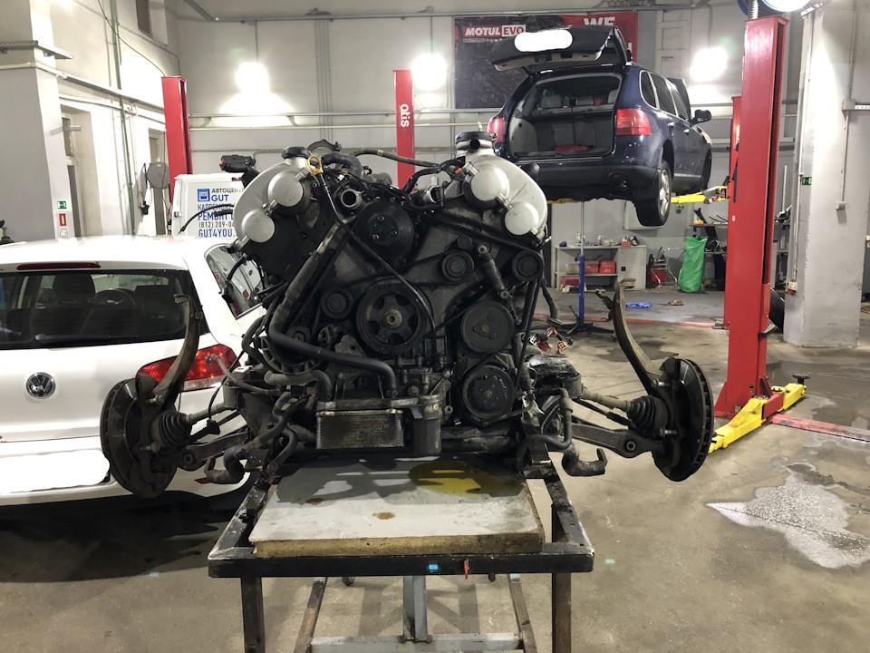 Ремонт двигателя Порше цена Киев