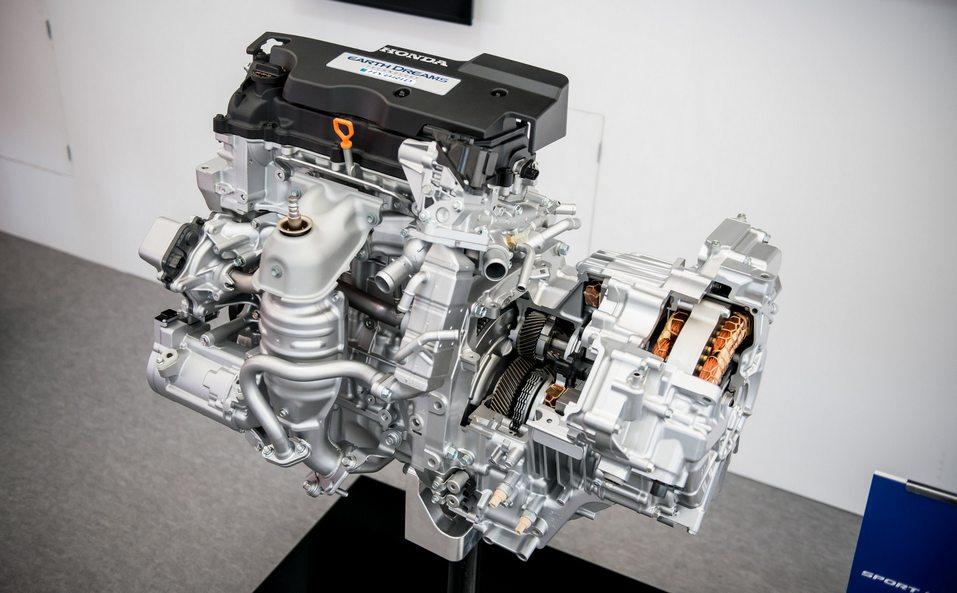 гибридный мотор