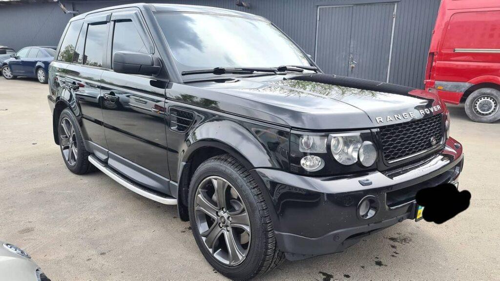 Детейлинг полировка для Range Rover Sport3